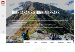 HIKES IN JAPAN